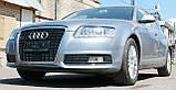 Декоративно-захисна сітка радіатора Audi (Ауді) A6 фальшрадіаторная решітка, бампер, фото 10
