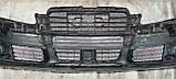 Декоративно-захисна сітка радіатора Audi (Ауді) A6 фальшрадіаторная решітка, бампер, фото 4
