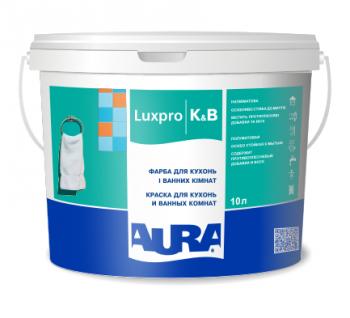 Aura Luxpro K&B 10л - Фарба для кухонь і ванних кімнат