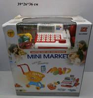 Магазин детский, касса с тележкой, со звуком, светом, 2900F