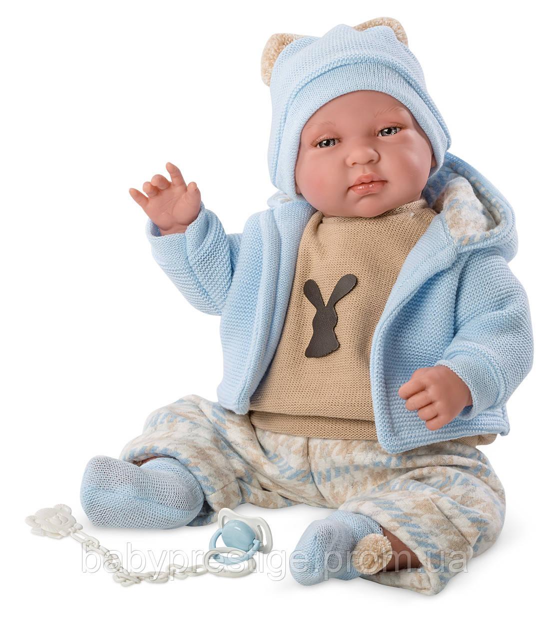 Llorens - кукла младенец мальчик Nacido, 44 см