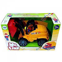 Машина М4 погрузчик (в подарочной упаковке), 006в.1