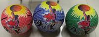 Мяч баскетбольный резиновый, размер 7, 560г , 3 цвета, BT-BTB-0015