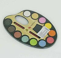 Акварельные краски для детей палитра 12 цветов