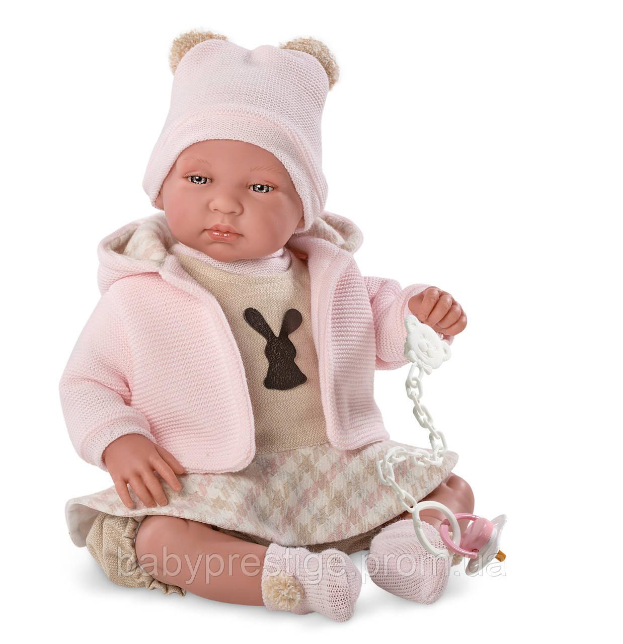 Llorens - кукла младенец девочка Recien Nacido, 44 см