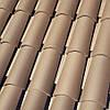 Черепица CURVED ROOF TILE T5 BROWN (коричневый)