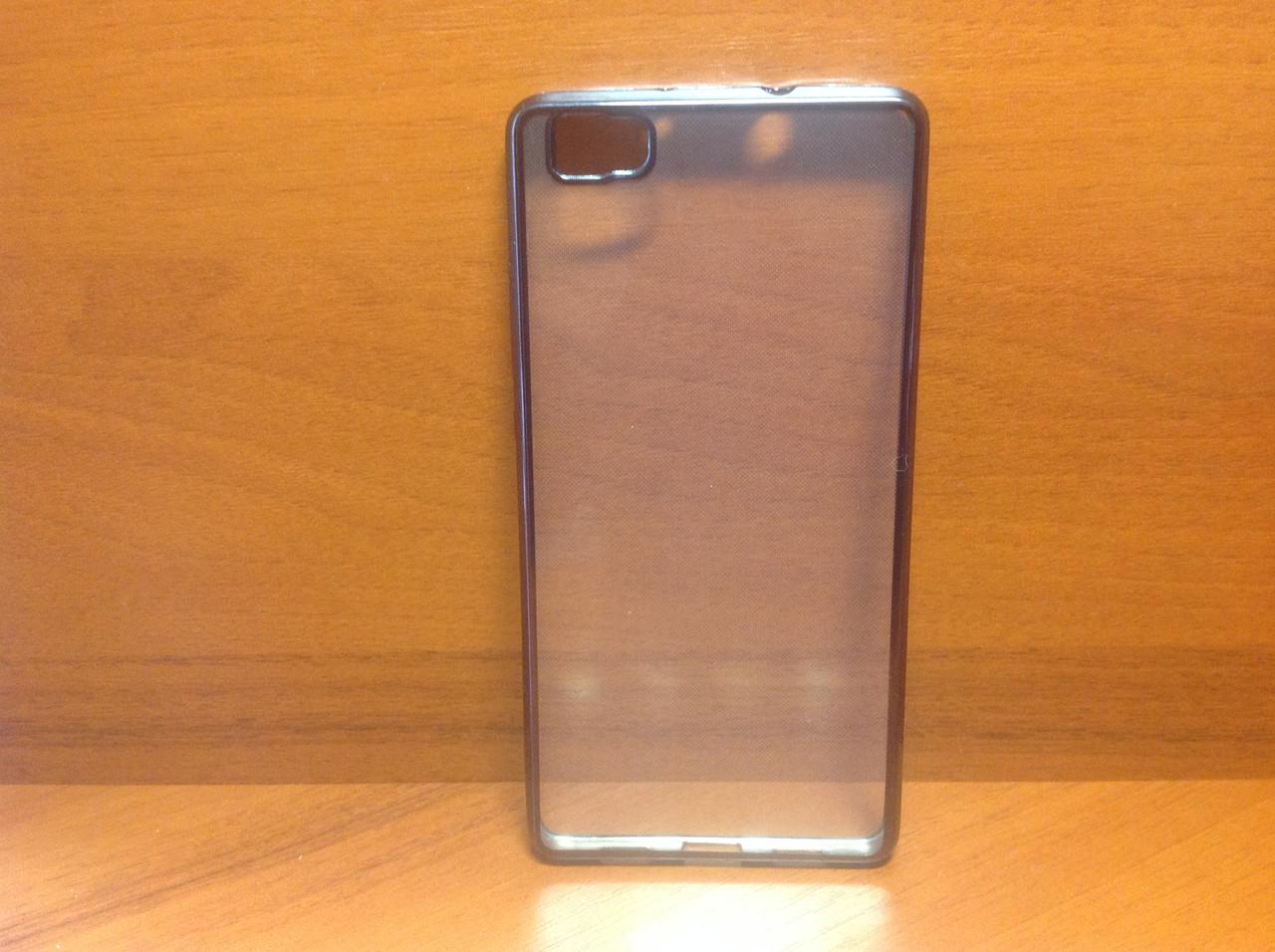 Силиконовый чехол накладка бампер UMKU Line Huawei P8 Lite