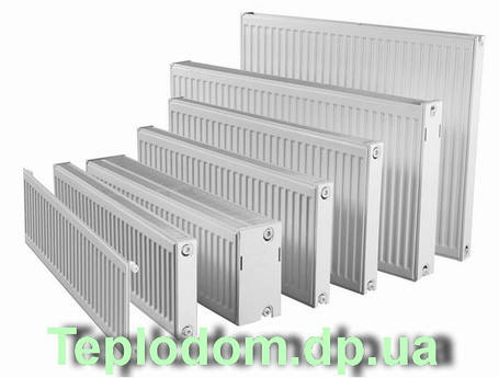 11 R (500х1000) RODA Радиатор стальной боковое, фото 2