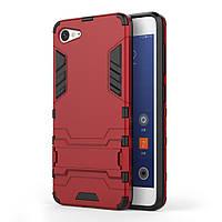 Чехол накладка силиконовый Armor Shield для Lenovo ZUK Z2 красный