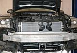 Декоративно-захисна сітка радіатора Audi (Ауді) A6 фальшрадіаторная решітка, бампер, фото 5