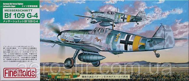 Messerschmitt Bf 109 G-4 1/72 FINE MOLDS FL7