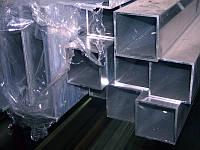 Алюминиевая труба квадратная 25x25x2,3 мм (6082) аналог Д16Т (анод.)