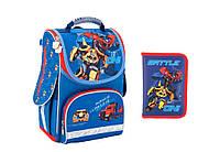 """Комплект школьный. Рюкзак """"Transformers"""" TF17-500S, Пенал, ТМ  KITE"""