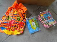 Жилет надувной с рисунками, 3 цвета, размер M, BT-IG-0003