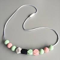 Слингобусы Лотос гризунци ожерелье Love Carry ECO из пищевого силикона без запаха и вкуса
