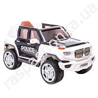Детский электромобиль JEEP POLICE CX 6605: 2.4G, 90W, EVA, кожа - ЧЕРНО-БЕЛЫЙ-купить оптом , фото 1
