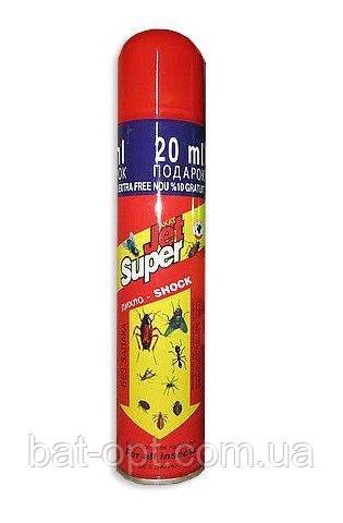 Дихлофос Jet Super / Джет Супер 400мл от летающих и ползающих насекомых