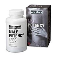 Таблетки для потенции мужчин COOLMANN MALE POTENCY TABS