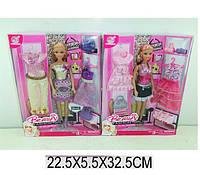 Кукла типа Барби ( + одежда и аксессуары), 2 вида, 60815HW