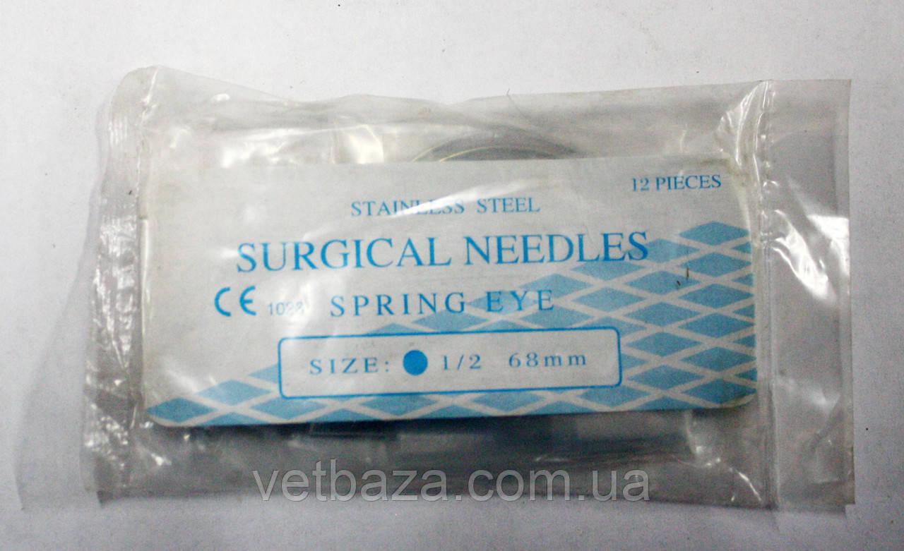 Иглы хирургические ветеринарные 3В1 0,7 * 28MM 12шт