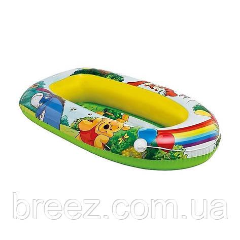 Детская надувная лодка для плавания Intex  Винни Пух 119 см, фото 2