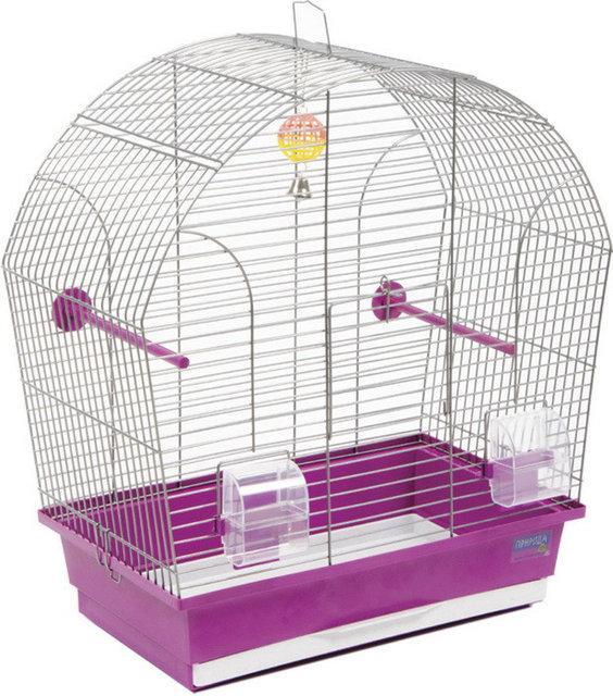 Клетка для птиц Природа Лина (44*27*54 см) в хроме