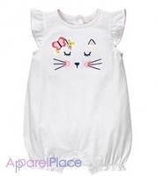 Gymboree Песочник белый Kitty