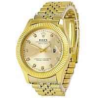 Часы Rolex Date Just Diamonds All Gold