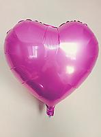 """Фольгированные шары """"Сердечки"""" 45 см Светло-розовый"""