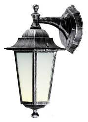Светильник  садово-парковый DeLux Palacе A02 60Вт Е27 черный-серебро
