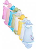 Комплект для девочки трусики+майка+панамка Эрика 74р, 3КП-353-74