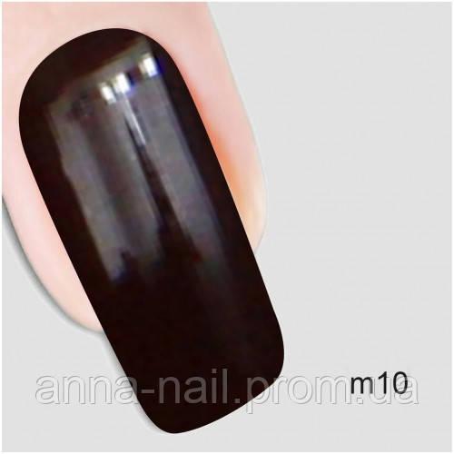 Гель лак Молекула искушения Nika Nagel m10, коричневый 10 мл