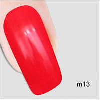 Гель лак Молекула влечения Nika Nagel m13, красный 10 мл