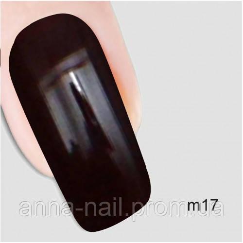 Гель лак Молекула пряности Nika Nagel m17, коричневый 10 мл