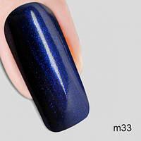 Гель лак Молекула кружева Nika Nagel m33, синий 10 мл