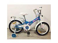 """Велосипед детский PROF1 18"""" Original girl,голубой, G1864"""