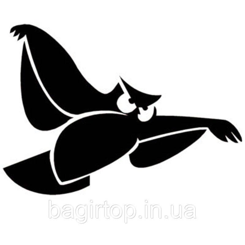 Вінілова наклейка - Сова (14)