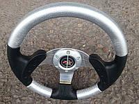 Руль Momo №579 (серый) с переходником на ВАЗ 2106., фото 1
