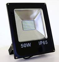 "LED прожектор 50Вт SMD slim серия ""Стандарт"" Super Bright, мощность 100%"