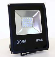 "LED прожектор 30Вт SMD slim серия ""Стандарт"" Super Bright, мощность 100%"