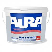 Aura Beton Kontakt 1 л  - адгезионная грунтовка с кварцем