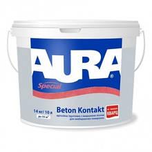 Aura Beton Kontakt 14 кг - адгезионная грунтовка с кварцем