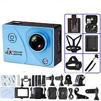 Экшн-камера Ultra HD 4К 2160p 30 к/с миниатюрная водонепроницаемая