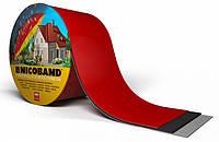 Лента самоклеющаяся Nicoband красная 7,5см.*10м., фото 1