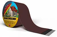 Лента самоклеющаяся Nicoband коричневая 7,5см.*10м., фото 1