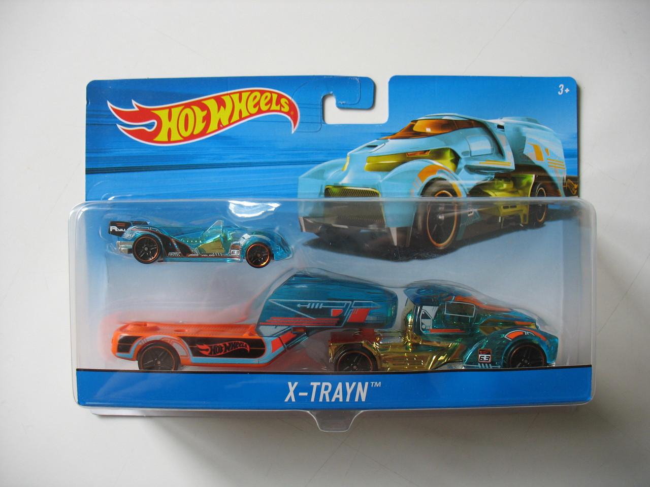 Хот вилс Машина дальнобойщика Hot Wheels™ (X-Trayn) DKF86-BDW51