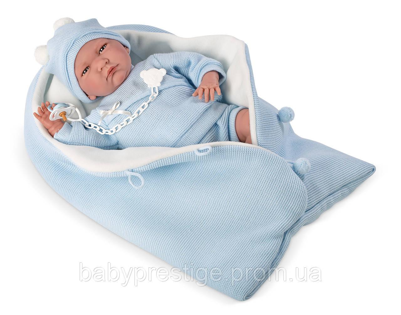 Llorens - кукла младенец мальчик Lalo, 40 см