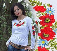 Женская вышиванка с длинным рукавом, фото 1