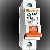 Автоматический выключатель ВА 1-63 С 10А Electro