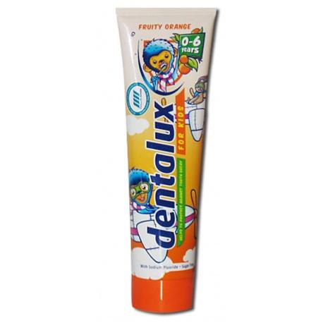 Зубная паста для детей Dentaluх Fruty Orange 100мл